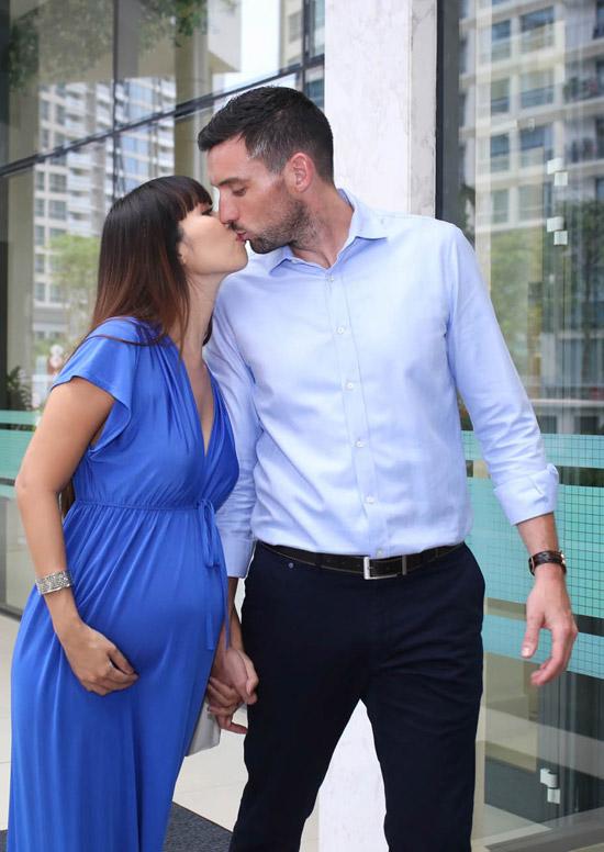 Cặp đôi đang rất nóng lòng chờ ngày con gái đầu lòng chào đời.