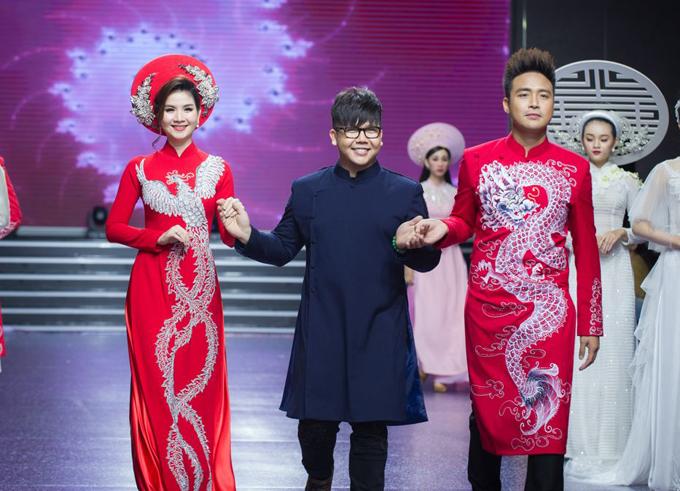 Nhà thiết kế Minh Châu và cặp đôi Thanh Duy, Kha Ly.