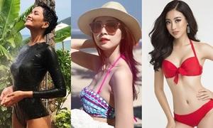 Khoảnh khắc diện bikini của dàn Hoa hậu, Á hậu Việt Nam