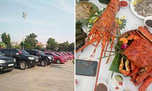 Đám cưới ở Hà Nội đãi khách toàn sơn hào hải vị, hơn 150 ôtô đi đón dâu