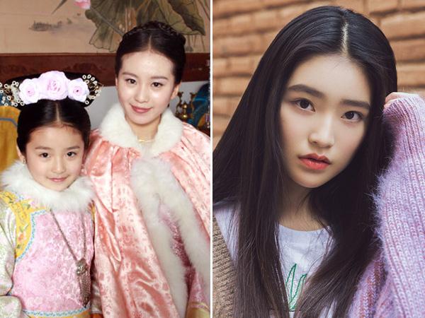 Sao nhí Trung Quốc có ngoại hình lột xác và thành công khi trưởng thành - 8