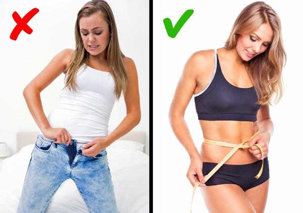 Đặt mục tiêu giảm cân xa vời Bạn không thể có được thân hình như người mẫu Victorias Secret chỉ sau một tháng tập luyện. Hãy cân đối thể trạng và đặt ra những mục tiêu ngắn hạn hợp lý, thay đổi theo từng giai đoạn. Việc này sẽ giúp bạn có thêm động lực để giảm cân.