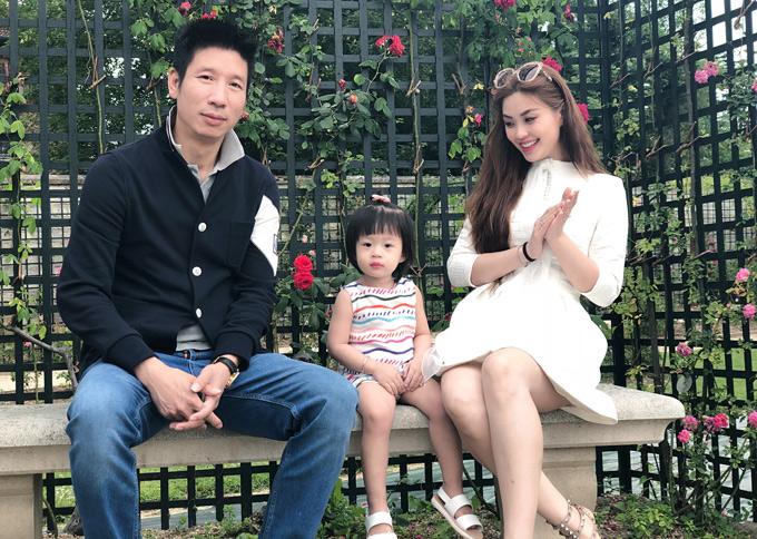 Đây là chuyến đi xa đầu tiên của bé Julia nên Diễm Trang hy vọng con gái có những trải nghiệm đầu đời đáng nhớ.