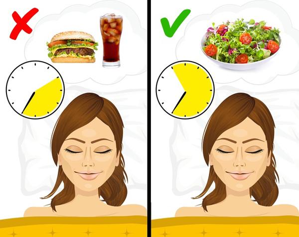 Không ngủ đủ giấcNgủ đủ giấc giúp quá trình trao đổi chất hoạt động hiệu quả hơn, nhờ đó, bạn sẽ không có cảm giác thèm ăn liên tục và hạn chế cơ hội tích trữ mỡ thừa. Thiếu ngủ sẽ khiến bạn nhanh đói, thèm ăn đồ có nhiều đường và tinh bột hơn.
