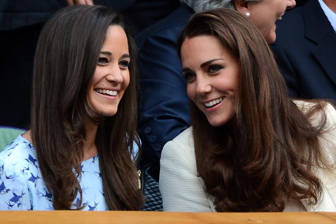 Trước khi kết hôn, Công nương Kate và em gái Pippa rất thân thiết, thường xuyên đi cùng nhau. Ảnh: AFP.