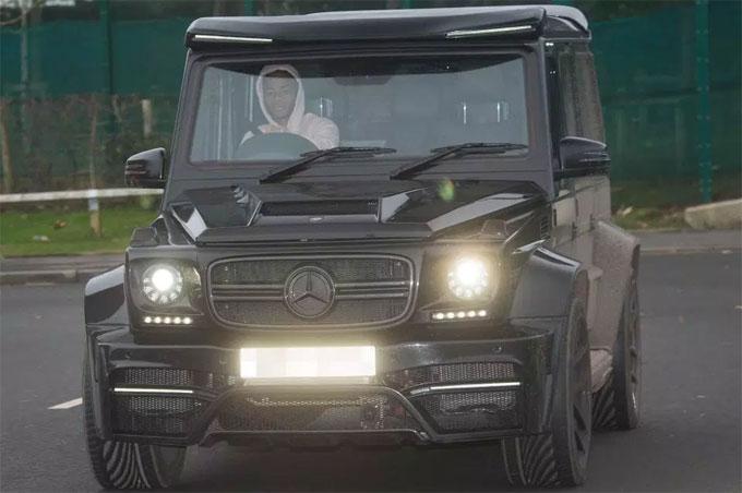 Raheem Sterlings Mercedes G-Class is worth around £150k