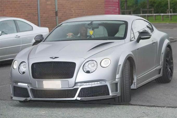 But its Raheem Sterlings £500k Bentley