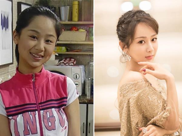 Sao nhí Trung Quốc có ngoại hình lột xác và thành công khi trưởng thành - 2
