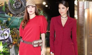 Người đẹp Việt cá tính khi diện suit