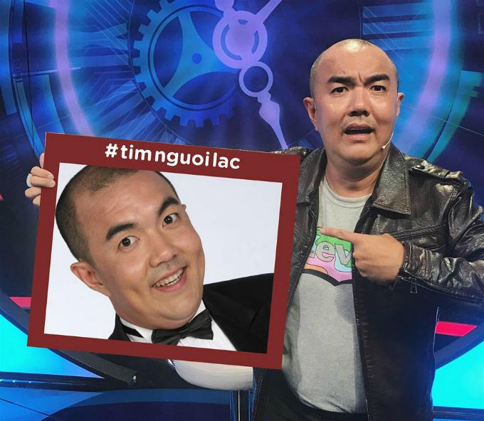 Mới đây, diễn viên Quốc Thuận đăng tải trên trang cái nhân 120.000 người theo dõi của mình thông tin: Mình mới nghe thông tin loạt sao quá phấn khích vì được đi lạc các bạn ơi, hoang mang quá. Dòng trạng thấy khó hiểu này đi kèm hashtag #timnguoilac.