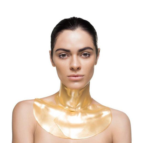 Ngoài mặt nạ cho mặt, Knesko còn có sản phẩm dành cho vùng cổ. Mặt nạ cho cổ có giá là 45 USD (khoảng 1 triệu đồng).