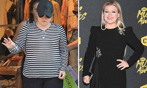 Kelly Clarkson giảm 17 kg sau nửa năm
