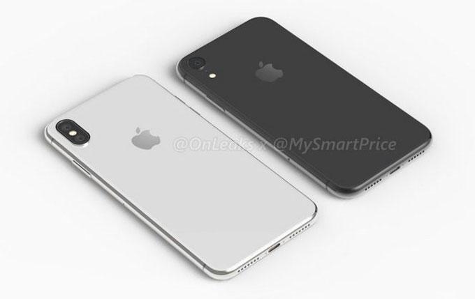 Tài khoản Twitter @Onleak nổi tiếng với tên thật ngoài đời là Steve Hemmerstoffer đã chia sẻ bộ ảnh dựng mới nhất về iPhone X Plus và iPhone 6.1 LCD.