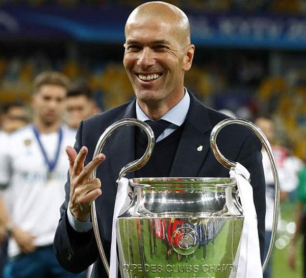 Tháng trước, HLV Zidane bất ngờ chia tay Real Madrid sau khi giành danh hiệu vô địch Champions League lần thứ ba liên tiếp. Anh chưa hé lộ bến đỗ tương lai sau khi nghỉ việc.
