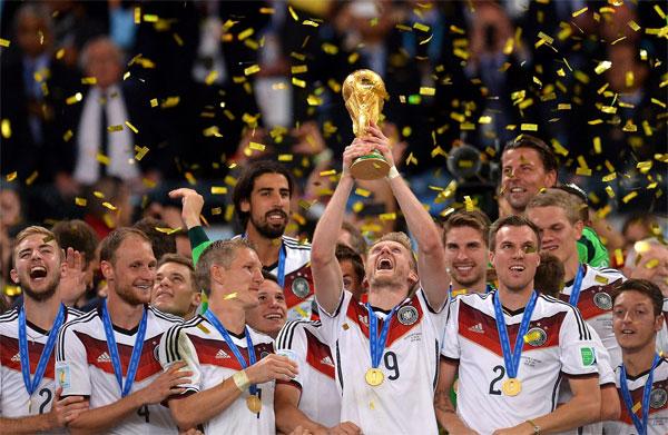 Tuyển Đức sẽ bảo vệ ngôi vô địch tại World Cup 2018. Ảnh: NN.