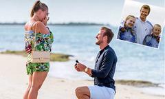 13 năm sau bức ảnh chụp chung với Becks, Harry Kane sắp cưới cô bạn thời ấu thơ