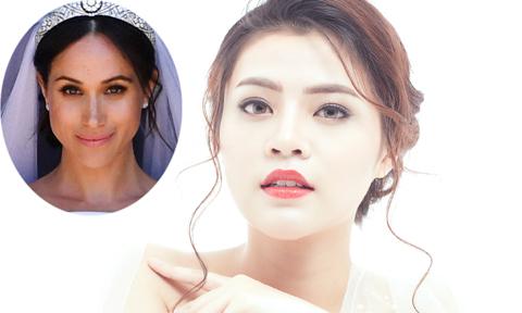 Makeup ngày cưới lấy cảm hứng từ cô dâu hoàng gia Meghan Markle