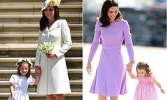 Công chúa Charlotte thường xuyên được mẹ cho diện đồ ton sur ton