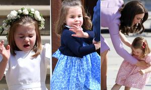 Những khoảnh khắc 'chiếm sóng' của Công chúa Charlotte