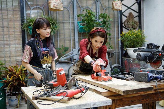 Bảo Thanh và Nhã Phương đóng vai bạn thân của nhau trong phim.
