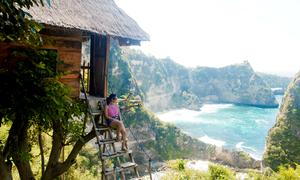 Hành trình của nữ du khách Việt tới căn nhà trên cây lãng mạn ở đảo Bali
