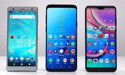 Ba smartphone cao cấp ra mắt tại Việt Nam nửa đầu năm 2018