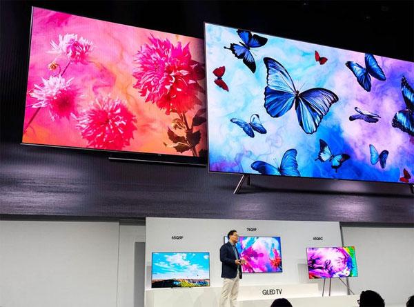TV QLED làsản phẩm tiêu biểu năm 2018 của Samsung. Ảnh: TV.