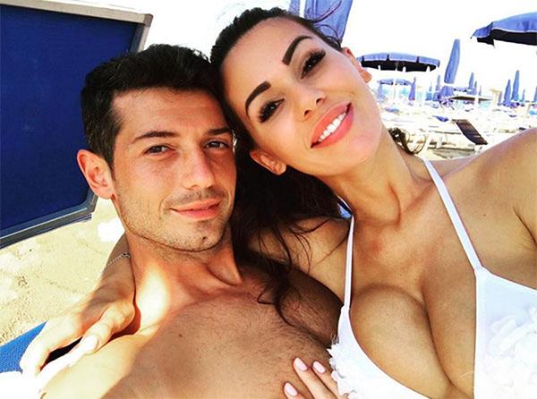 Blerim Dzemaili và vợ cũErjona Sulejmani. Ảnh: Instagram.