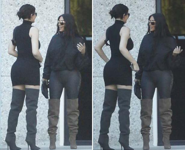 Dù đều có con gái nhỏ gần 5 tháng tuổi nhưng Kim và Kylie đều là những bà mẹ năng động, say mê công việc.