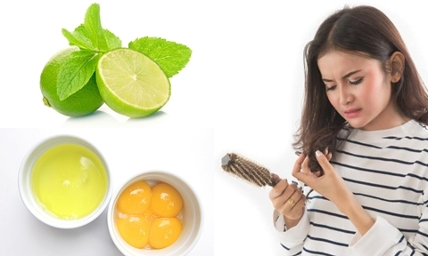 5 cách giảm tóc gãy rụng từ nguyên liệu tự nhiên