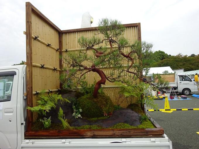 Chủ nhân của khu vườn này chắc hẳn rất yêu thích và am hiểu nghệ thuật bonsai.