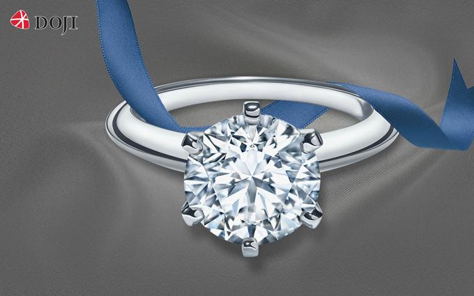 Kim cương DOJI ưu đãi lớn trên toàn quốc
