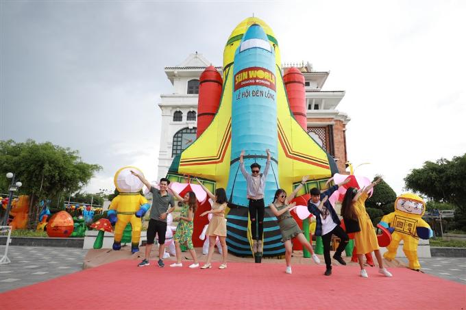 Sun World xác lập kỷ lục Guinness với Mô hình Đèn lồng lớn nhất Việt Nam (em xin edit) - 9