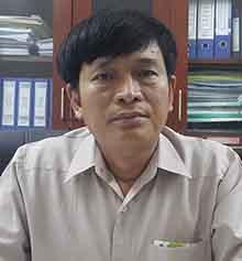 Ông Hoàng Văn Thư. Ảnh: Anh Thư.