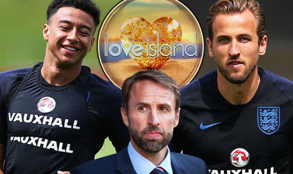 Nhiều tuyển thủ Anh thích theo dõichương trình Love Island trên ITV2. Ảnh: Express.