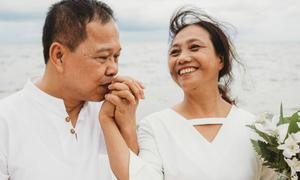 Ảnh cưới ngập tràn hạnh phúc của cặp vợ chồng chưa một lần cãi vã