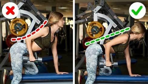 6 sai lầm chị em thường mắc phải khi tự tập gym