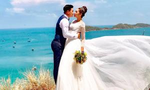 Ảnh cưới ở đảo Nam Du, Hòn Sơn của Hoa hậu Đại dương Thu Thảo