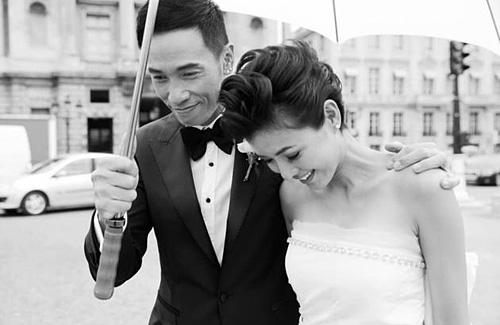 Trần Hào, Nhân Mỹ: cặp sao nổi tiếng hạnh phúc của Hong Kong.
