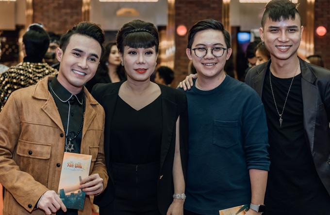 Cây hài Huỳnh Lập và nhiều đồng nghiệp tới ủng hộ sản phẩm của Hồng Thanh. Phim Sài Gòn, anh yêu kem phát sóng trên kênh Youtube của Việt Hương vào 20h thứ ba hàng tuần. Phim dài 3 tập.