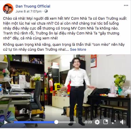 Đan Trường thể hiện lại điệu nhảy trong MV mới của Lê Thiện Hiếu - 1