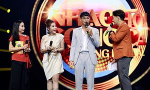 Khả Như 'hăm dọa' Ngô Kiến Huy, Ốc Thanh Vân trên sân khấu