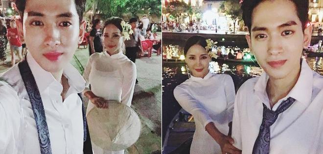 Bom sex 46 tuổi xứ Hàn cùng hôn phu 29 tuổi sang Việt Nam chụp ảnh cưới - 1
