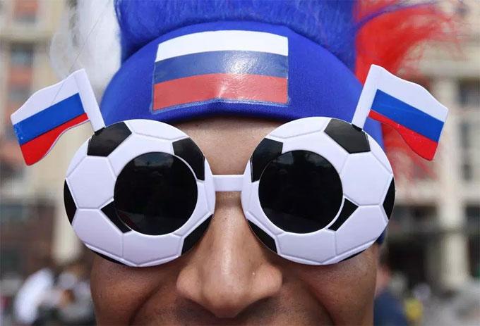 Fan Nga tin tưởng vào màn trình diễn của đội nhà trong giải đấu năm nay.