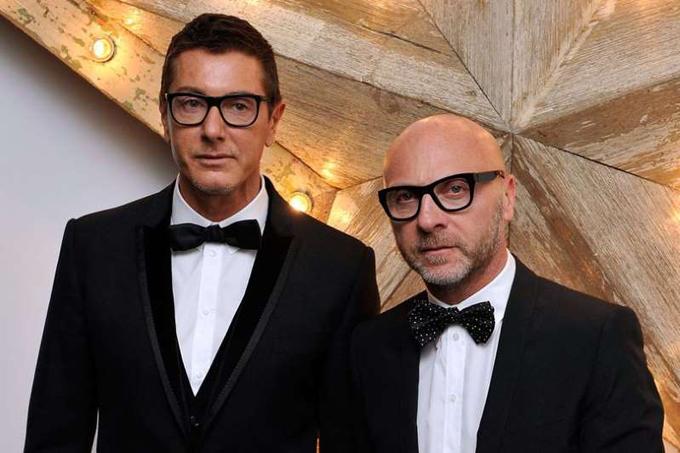 Stefano Gabbana và Domenico Dolce đồng sáng lập thương hiệu thời trang cao cấp Dolce & Gabbana.