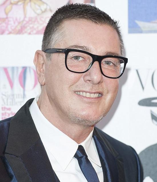 Nhà thiết kế Stefano Gabbana.