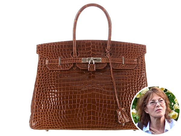 Jane Birkin sốc trước hành động tàn ác đối với cá sấu để làm túi.