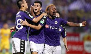Thắng đậm Than Quảng Ninh, CLB Hà Nội vô đối ở lượt đi V-League 2018