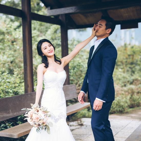 5 năm sau scandal sex trong toilet, mỹ nhân TVB khoác váy cưới - 5