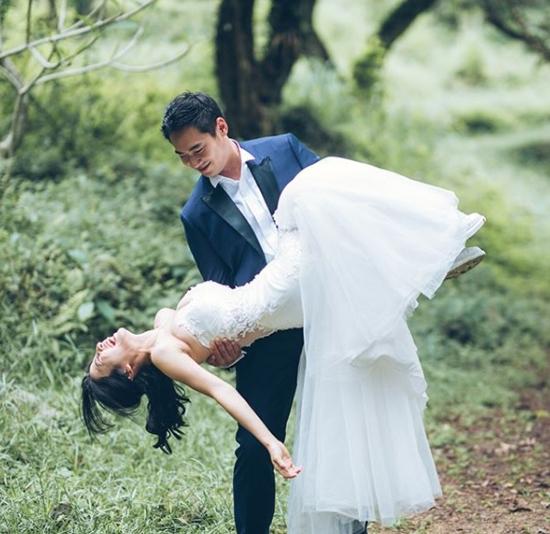 5 năm sau scandal sex trong toilet, mỹ nhân TVB khoác váy cưới - 3